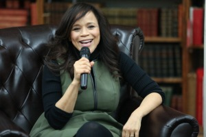 """Rosie Perez Signs Copies Of Her Book """"Handbook For An Unpredictable Life"""""""