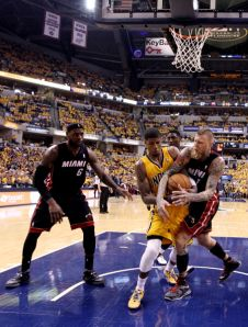 Miami Heat v Indiana Pacers - Game 2