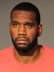 Greg Oden booking photo 080714