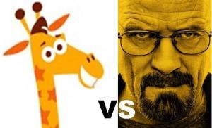 Geoffrey vs Walter White