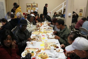 Oakland Ministry Provides Thanksgiving Meal For Needy And Homeless