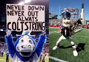 Colts Blue vs Patriot Pat