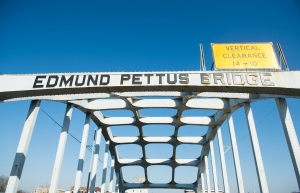 Edmund Pettus Bridge over the Alabama River in Selma, Ala