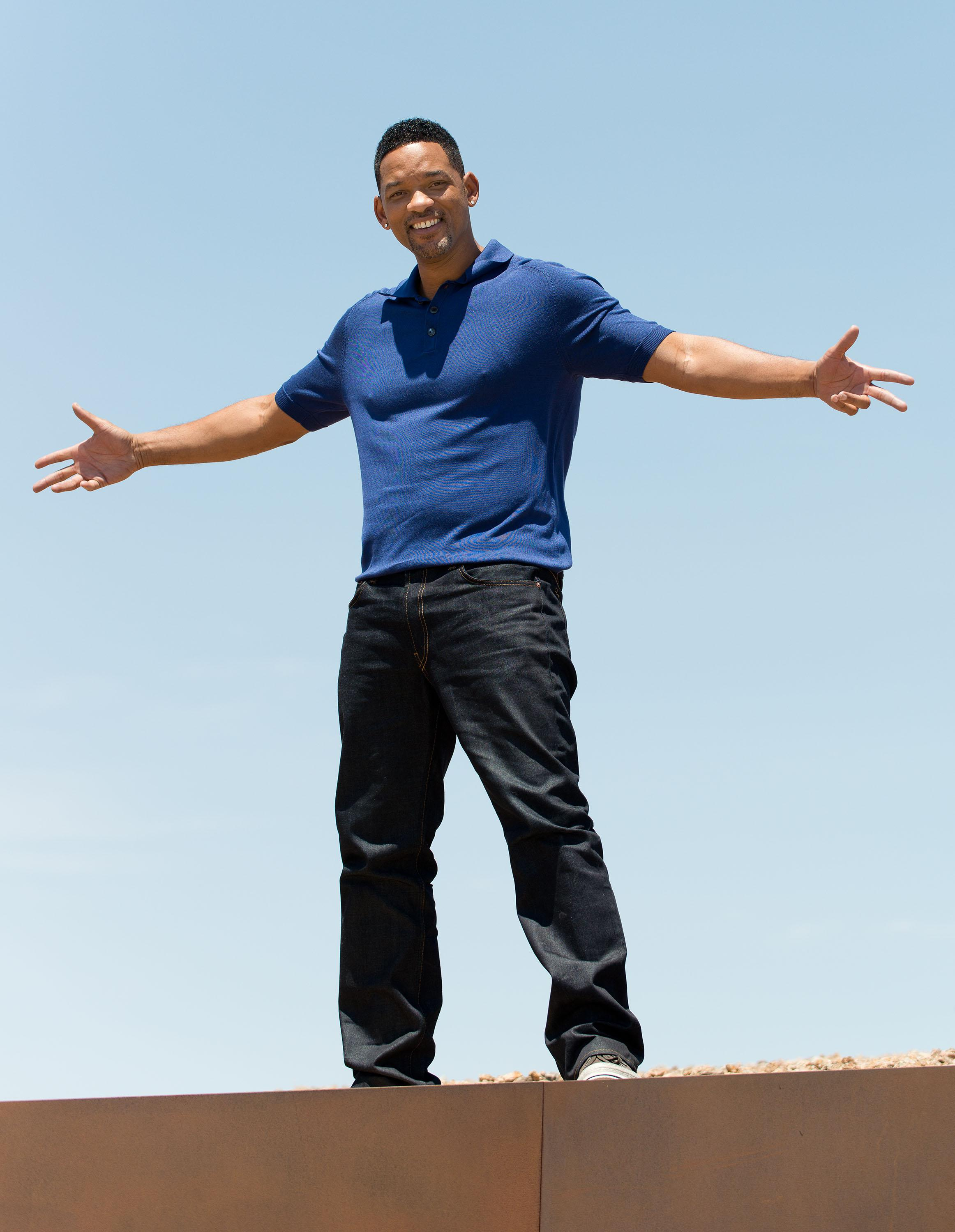 Colombia Pictures' 'After Earth' Press Junket At Spaceport America