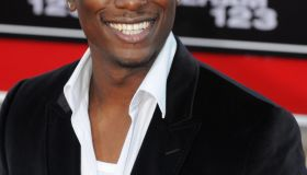 Actor and rap music artist Tyrese Gibson