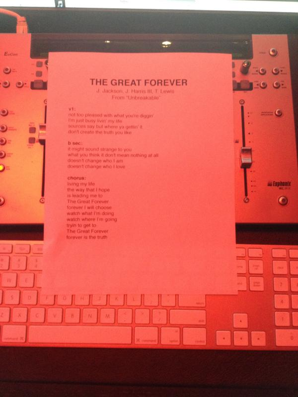 The Great Forever tease