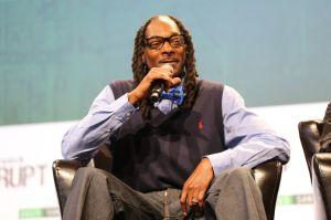 Snoop dogg at Tech Crunch