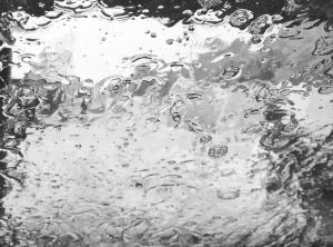 Full Frame Shot Of Wet Car Window In Rainy Season