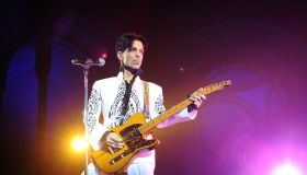 US singer Prince performs on October 11,
