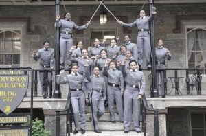 Black female cadets at West Point