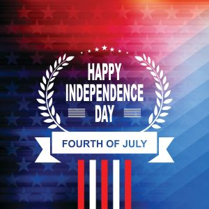 Happy 4th of July Independence Day Background