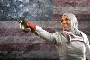 Ibtihaj Muhammad USA Fencer