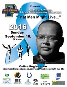 That Men Might Live Prostate Cancer Awareness 5K Walk Run