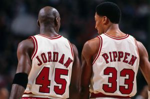 Chicago Bulls: Scottie Pippen and Michael Jordan