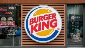 Logo of a Burger King restaurant. Burger King is on the...