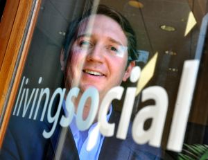 Tim O'Shaughnessy, CEO of LivingSocial