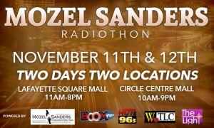 Mozel Sanders Foundation Radiothon Flyer