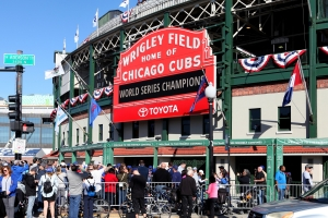 Chicago Cubs World Series Atmosphere