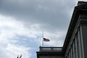 Government Buildings Lower Flags To Half Staff After Dallas Shooting Kills 5 Police Officers