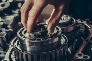 CVT gearbox repair closeup