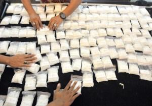 15.5 Kilos Of Methamphetamine Seized In Jakarta