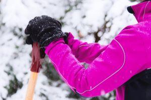 Snow Shoveling Break