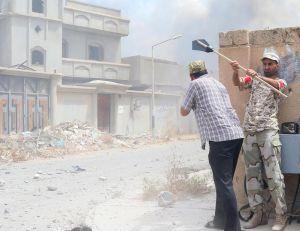 Operation against Daesh in Libya