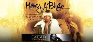 Mary J. Blige w/ Lalah Hathaway Flyer