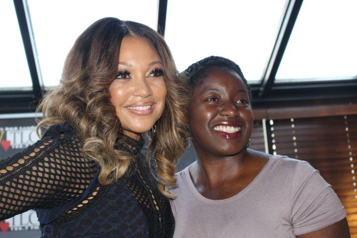 Chante Moore Meet & Greet Photos