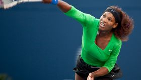 Serena Williams of the United States ser