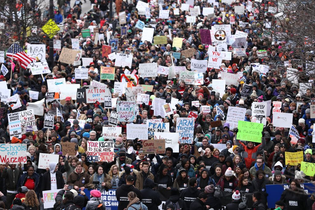 'March For Our Lives' Protest in Chicago