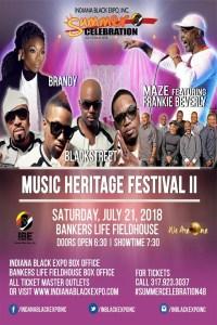IBE Music Heritage Festival II Flyer