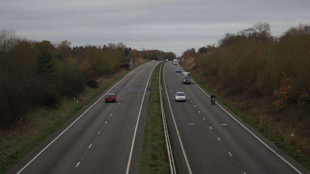 Light Traffic on Motorway