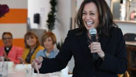 Kamala Harris Joins Democratic Senate Candidate Jacky Rosen At NV Campaign Events