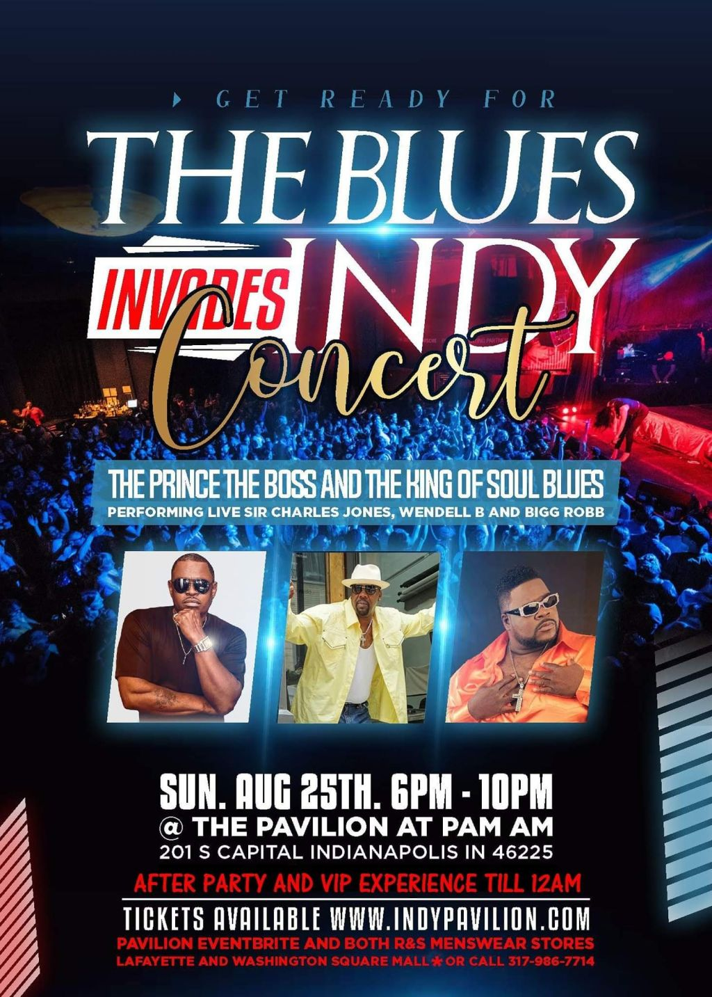 Blues Invades Indy Concert