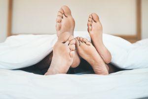 Feet that speak happiness