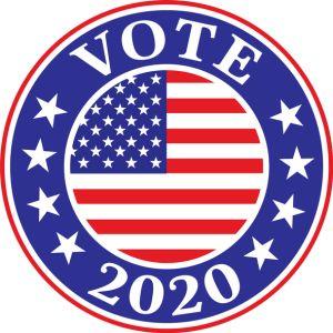 Vote 2020 Label
