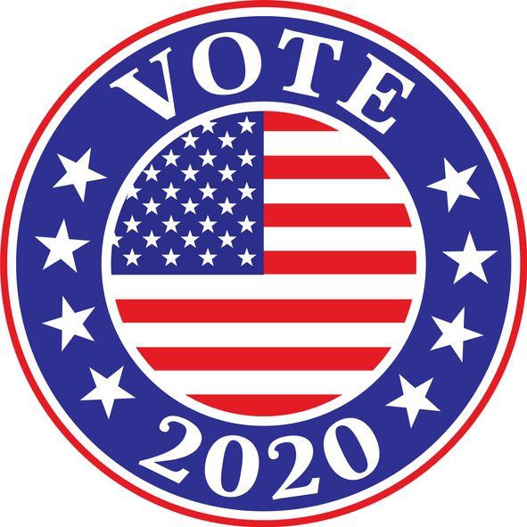 Vote 2020 Label
