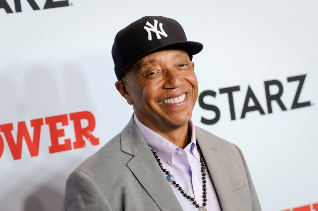 Russell Simmons attends the Power Final Season Premiere held...