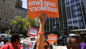 Protestors In NYC Hold Rally Against Illegal Guns And Gun Violence