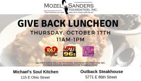 Mozel Give Back Luncheon