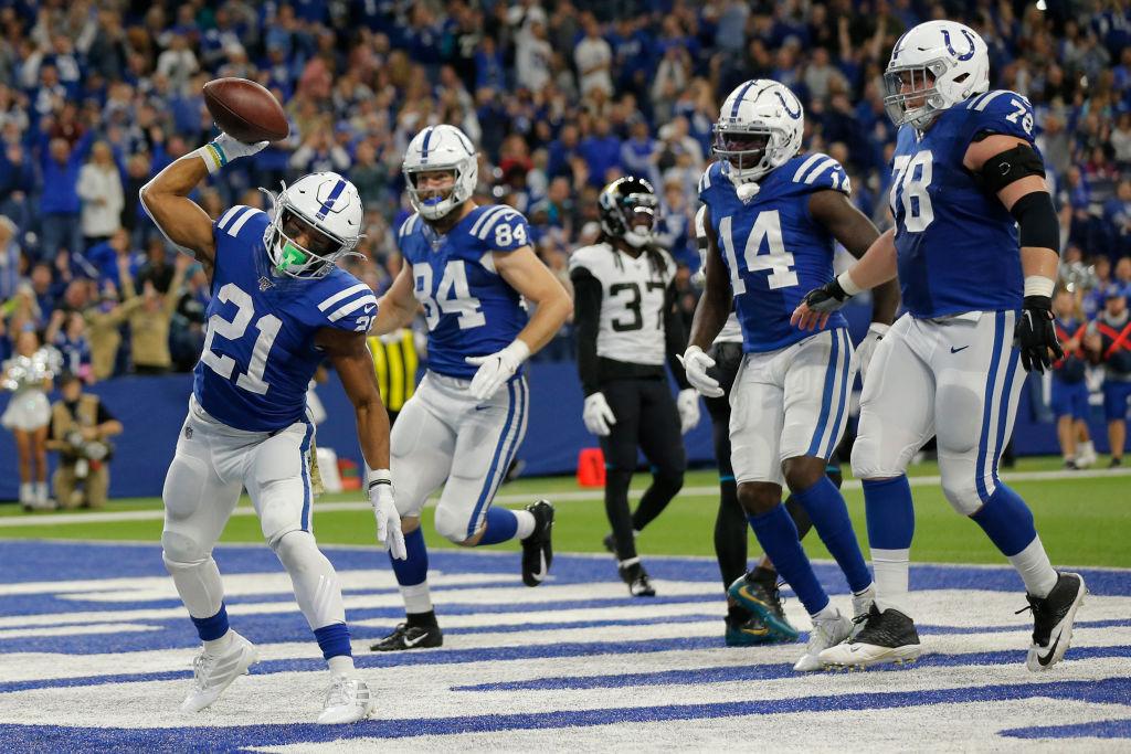 NFL: NOV 17 Jaguars at Colts