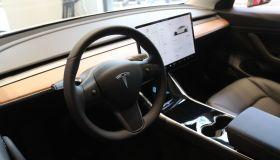 China-built Tesla Model 3 Unveiled In Shanghai