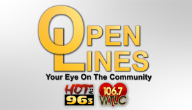 Open Lines With Cameron Ridle and Ebony Chappel