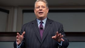 Al Gore Signs Copies Of His Book 'The Future'