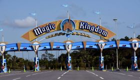 The entrance to the Magic Kingdom at Disney World is seen on...