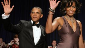 US President Barack Obama arrives with F