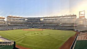 No Fans Major League Baseball Game