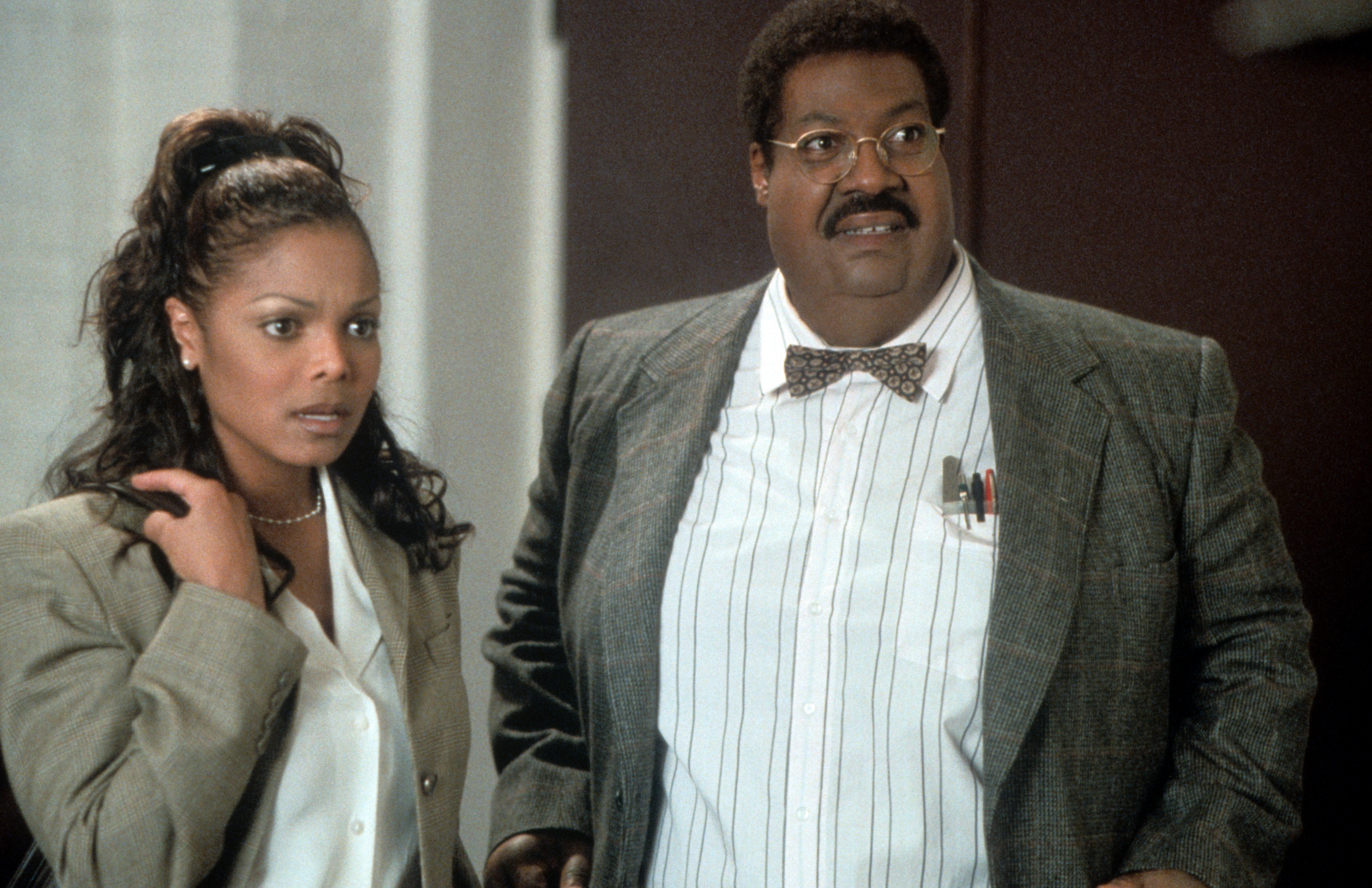 Janet Jackson And Eddie Murphy In 'Nutty Professor II: The Klumps'
