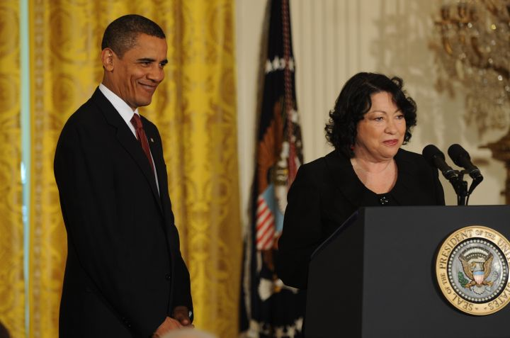 USA - Politics - President Obama Hosts Reception for Newly Appointed Supreme Court Justice Sotomayor